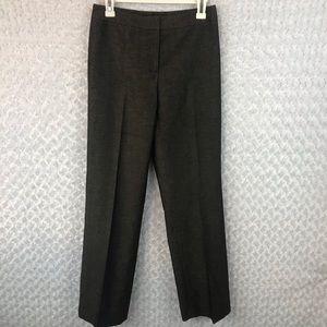 New Lafayette 148 Brown Tweed Dress Pants